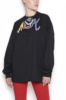 ALYX crew neck long sleeves t-shirt with print 'alyx graffiti'