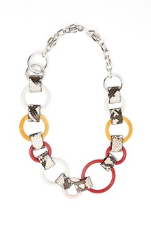 MARNI belt with circles and chain