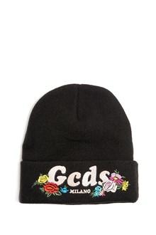 GCDS Beanie with Logo