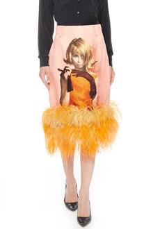 PRADA 'Poster Girl' Pencil Skirt