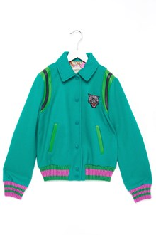 GUCCI patch bomber jacket