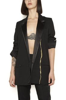 HAIDER ACKERMANN double-breasted jacket with embroidery