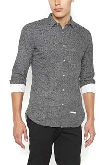 DNL cotton shirt with geometric print