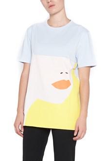 CARVEN cotton t-shirt with 'visage' print