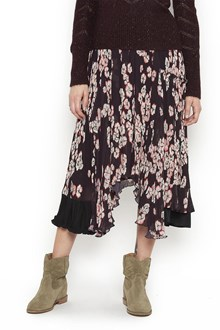 ISABEL MARANT Skirt with floreal 'Winly' print