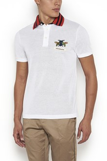 GUCCI Polo with embroidered Insect