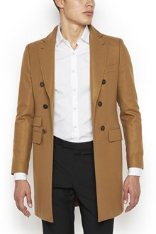 TONELLO Cotton Double Breasted Coat