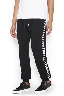 VERSUS VERSACE Cotton Pants with Logo