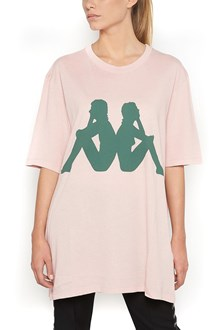 FAITH CONNEXION cotton t-shirt with logo Kappa