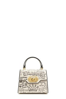 DOLCE & GABBANA leather 'Welcome' hand bag