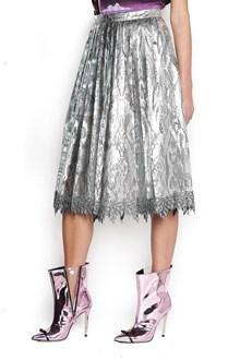 MARCO DE VINCENZO Pleated lace Skirt