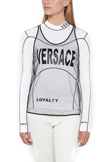 VERSACE Long Sleeve T-Shirt with detachable Top