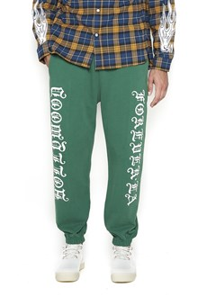 ADAPTATION Pants with 'Hollywoood Forever' Print