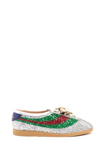 GUCCI 'Competition' glittered sneakers with bee
