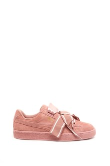 PUMA 'Suede Heart Satin' Sneakers