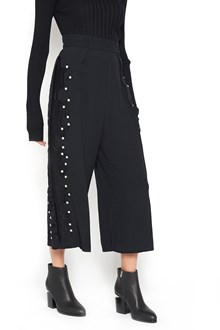 WANDERING Wide-Leg Pants with Beads
