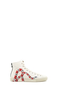 GUCCI Sneakers with snake print