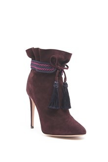 AQUAZZURA Ankle Boots with tassels