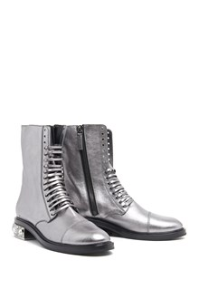 CASADEI Biker Boots with jewels details