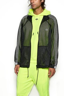 ADIDAS ORIGINALS BY ALEXANDER WANG Felpa a Rete con Zip