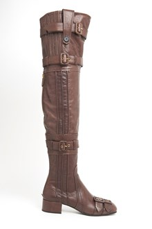 PRADA High Boots with Buckles