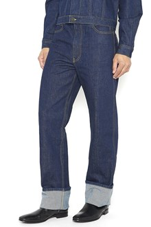 CALVIN KLEIN 205 W39 NYC High Rise and Straight Leg Jeans