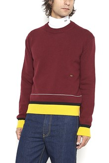 CALVIN KLEIN 205 W39 NYC Sweater with contrast bottom