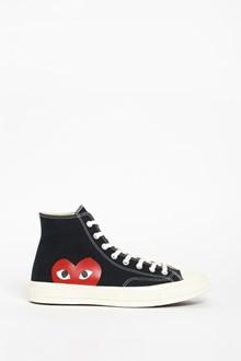COMME DES GARÇONS PLAY 'Chuck Taylor' High Top Sneakers