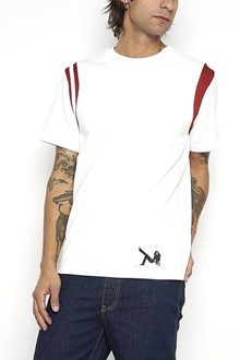 CALVIN KLEIN 205 W39 NYC T-Shirt with colored stripes