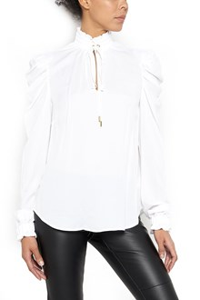 MICHAEL MICHAEL KORS Shirt with Ruffle Shoulder and Neck