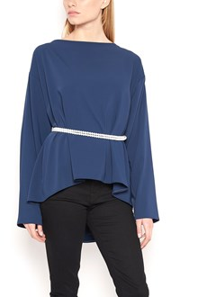 MM6 BY MAISON MARGIELA Blouse with Back Pearls