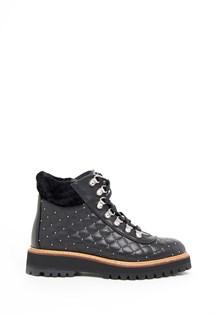 PHILIPP PLEIN Ankle Boots with Swarovski Logo