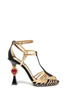 DOLCE & GABBANA 'heart' sandals
