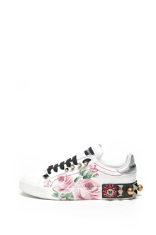 DOLCE & GABBANA roses sneakers