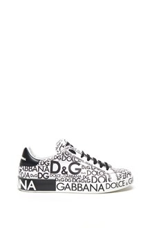 DOLCE & GABBANA all over logo sneakers