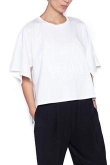 FENDI asymmetrical t-shirt