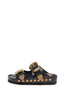 FAUSTO PUGLISI slides with buckles