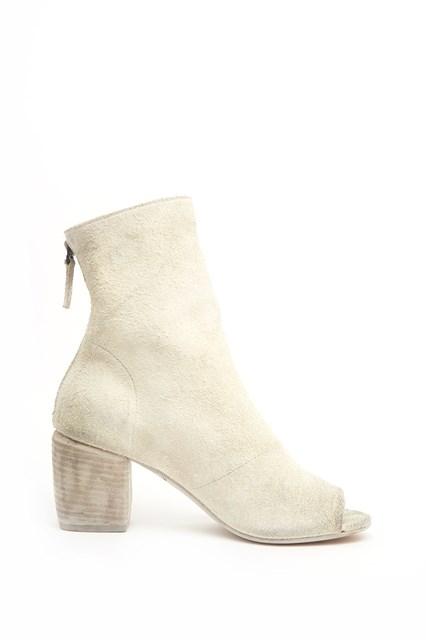 MARSèLL White Suede Mabo Sand Boots La Sortie Dernières Collections Vente Pas Cher Offres 4YeaCm