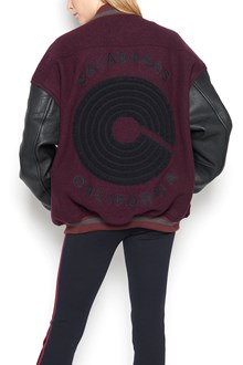 YEEZY Unisex embroidered bomber jacket