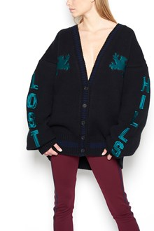 YEEZY Unisex embroidered cardigan