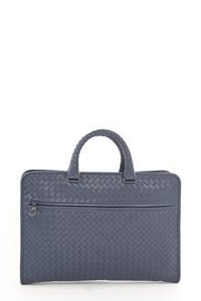 BOTTEGA VENETA leather crossed hand bag