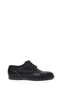 DOLCE & GABBANA 'marsala' lace up shoes