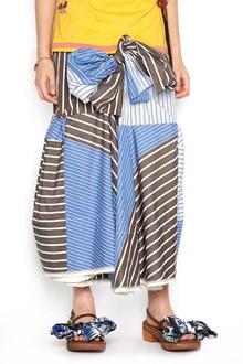 MARNI front knot skirt