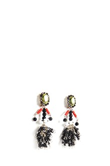 MARNI 'bambolina' clip earrings