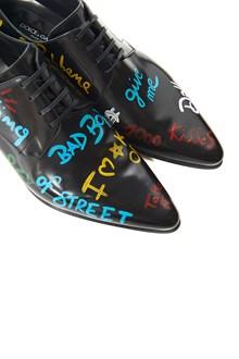 DOLCE & GABBANA 'james bond' lace up shoes