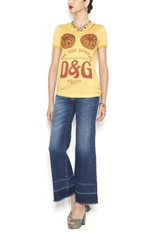 DOLCE & GABBANA 'for the lovers d&g' t-shirt