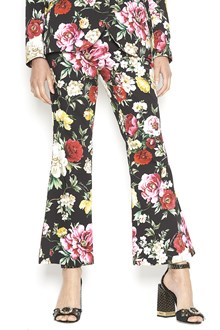 DOLCE & GABBANA floral printed pants