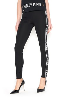 PHILIPP PLEIN Leggings with side bands
