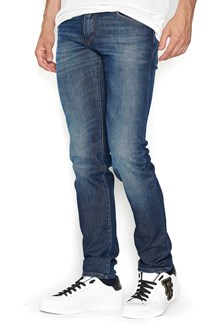 DOLCE & GABBANA jeans with 'D&G' patch