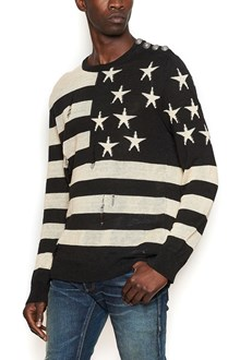 BALMAIN maglione 'american flag'